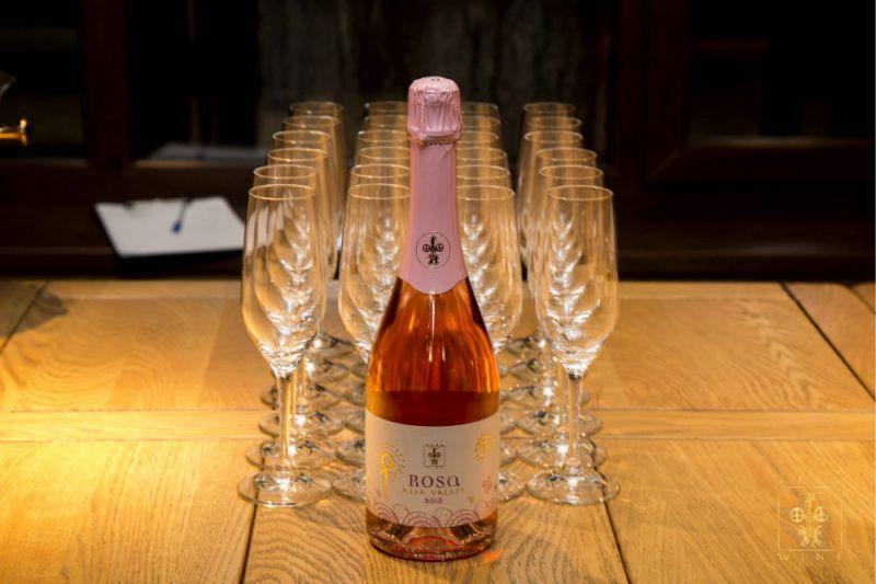 Дегустация Розового игристого вина Rosa винотека Arba Wine Almaty