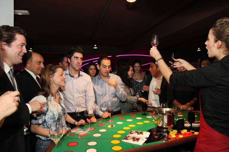 Винное казино в Алматы!