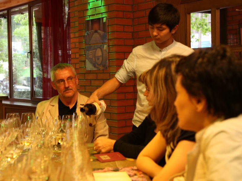 15 мая дегустация в винотеке Arba Wine г. Алматы