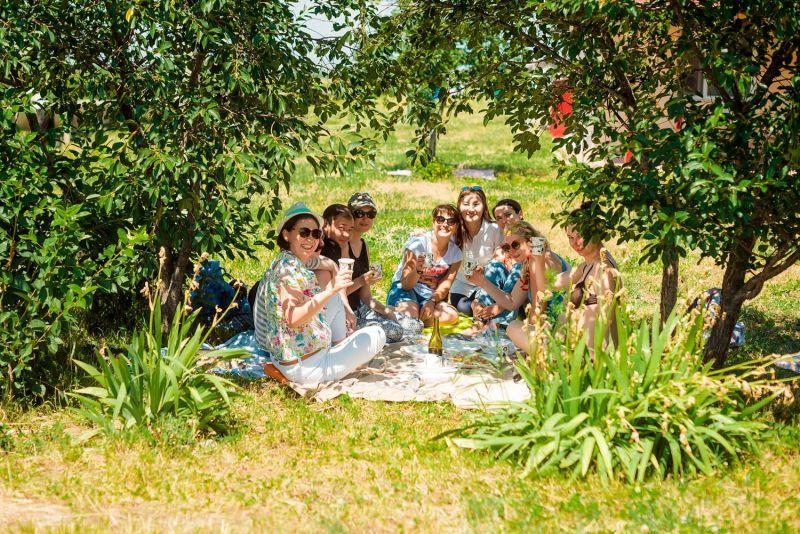 Пикник на виноградниках Arba Wine