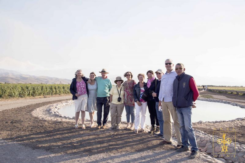 Главы крупных иностранных компании и несколько дипломатов посетили виноградники ARBA WINE и завод